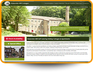 Web Developer for the new Hewenden Mill website